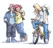 koppel_fietsmeisje